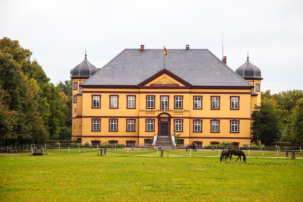 Hohen Luckow, Schloss