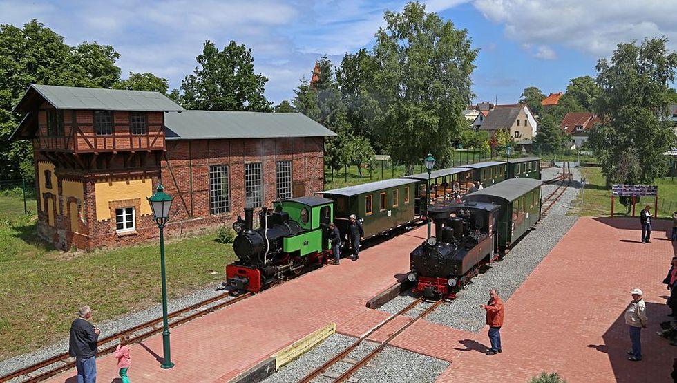 """Schmalspurbahn """"Lütt Kaffeebrenner"""""""
